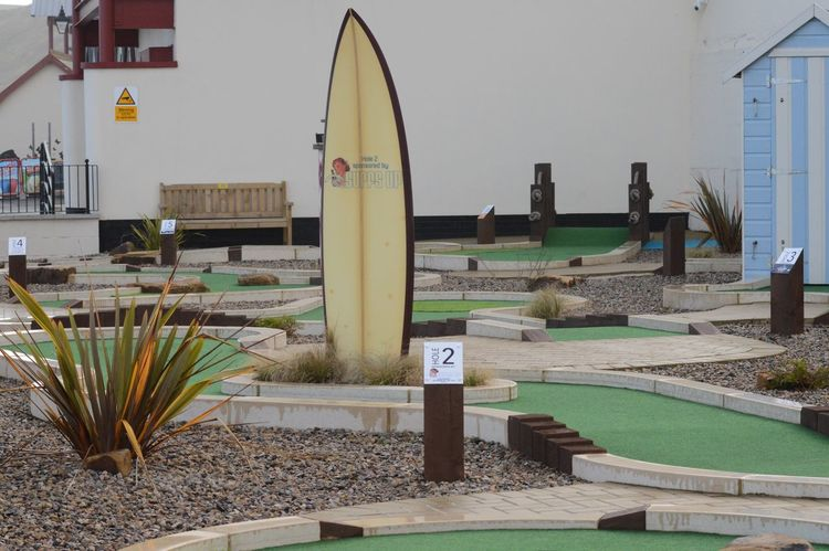 Crazy golf at Saltburn on sea Tourism Destination
