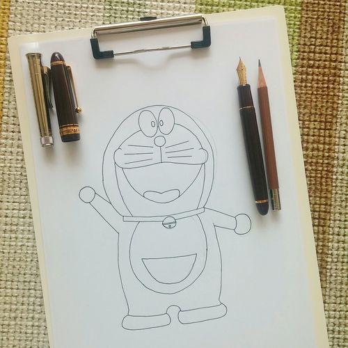 정말 좋아 도라에몽 Doraemon Drawing Comic Fountainpen Pencil Drawing Pencil Sketch  Pencil Check This Out www.fb.com/kim.yujupapa
