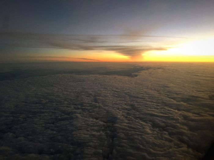 New day rising... 30,000 ft