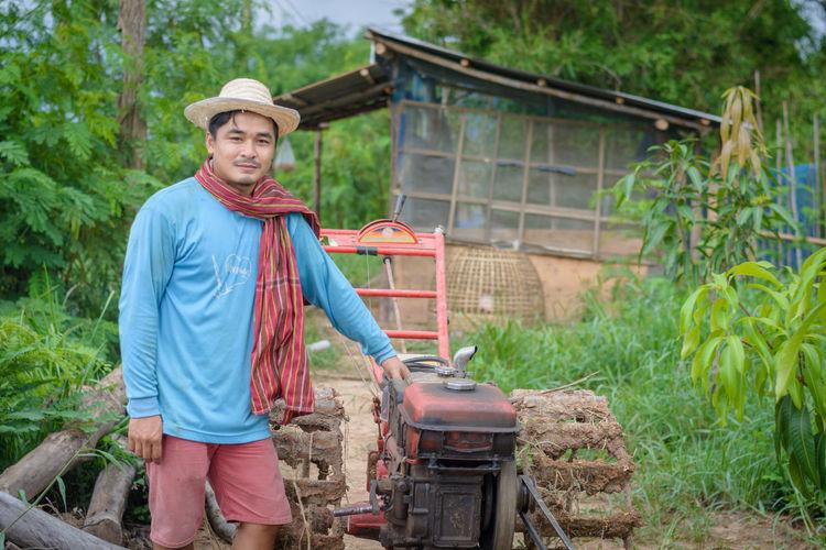 A young farmer