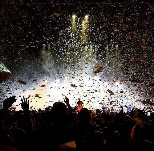OneRepublic concert in London, Ontario Encore Confetti Concert Stage Onerepublic Onerepublic Concert Concert Photography Elkramj