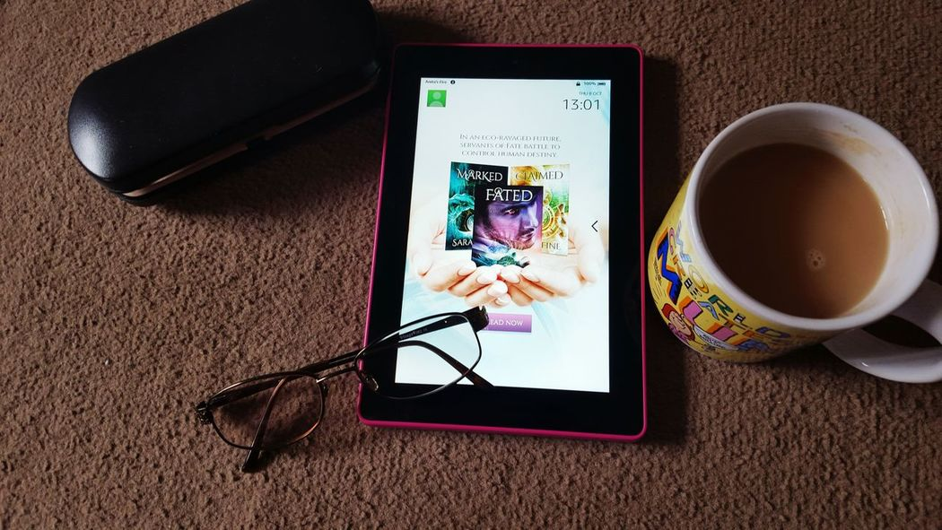 Deceptively Simple Kindle Fire Past Time My Hobby Enjoying Life Having A Break Reading A Book Reading & Relaxing