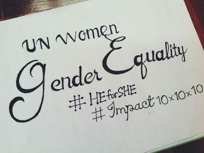 Heforshe UNWomen First Eyeem Photo