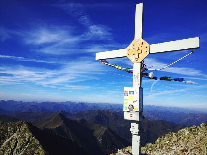 Hohen Tauern Mountain Großer Bösenstein Sky Hiking