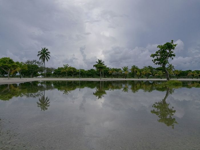 Reflecting Miami, FL Miami Cloudy Day HuaweiP9 Lecia Relaxing