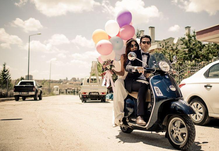 Düğün Öyküsü Dugunfotografcisi Dügüncekimi Wedding Photography Wedding Day Motorcycle Groom Bride Wedding Weddingphotographer Weddingstory First Eyeem Photo