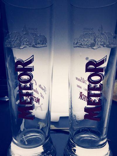 Text Indoors  Bière Entre Amis Meteor Jusqu'à La Mort Bière Meteor Alcool Time Soirée IPhoneography