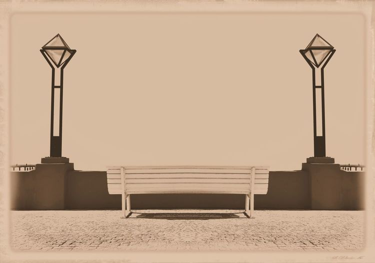 Architecture Bench Binz Auf Rügen Lanterns Laternen Postcard Promenade Prommenade Rügen Seaside Resort Art Deco Style Bank Holiday Greetings Nostalgic  Outdoors Retro Styled Seaside Seebadbinz Sephia Photo Sitzbank Vintage Photo