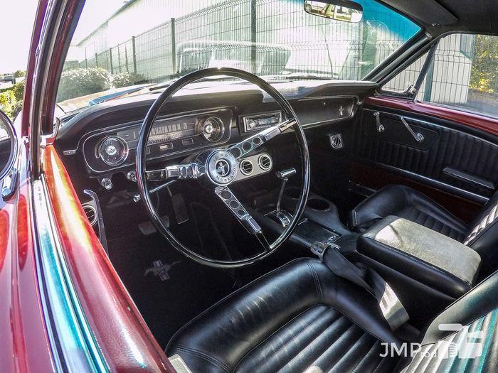 Car Car Interior Close-up Ford Mustang Ford Mustang Interior Dashboard