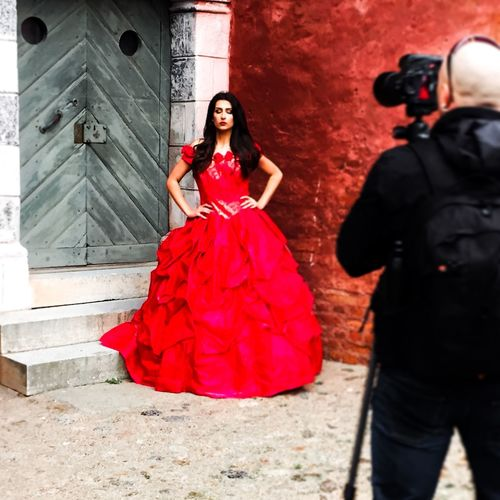 Behind the scene Having Fun Fashion Dress Model Hello World That's Me Check This Out