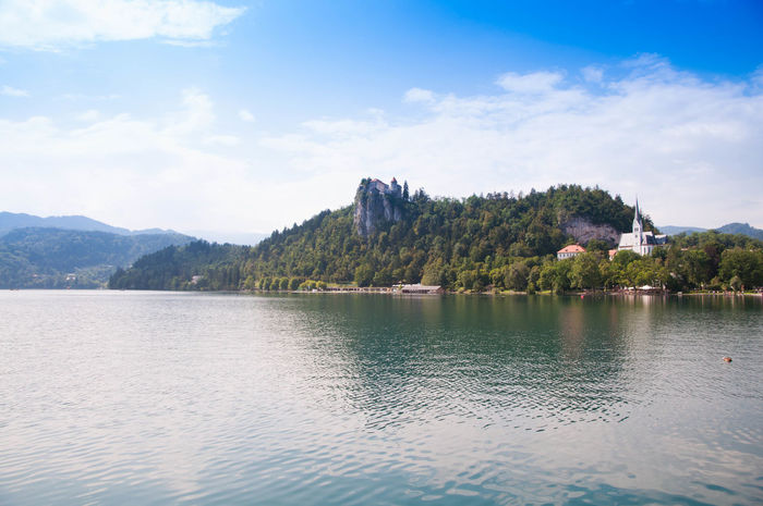 Bled Bled Lake Slovenia Bled, Slovenia Cloud - Sky Day Lake Landscape Mountain Nature Nature Reserve No People Outdoors Scenics Sky Tranquil Scene Tranquility Tree Vacations Water