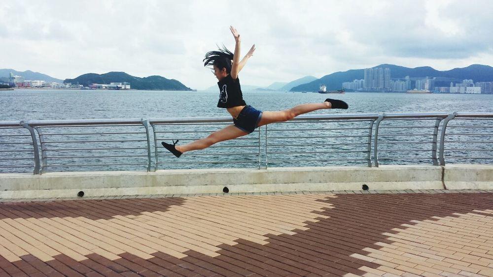 Rhythmic Gymnastics Jump Split That's Me