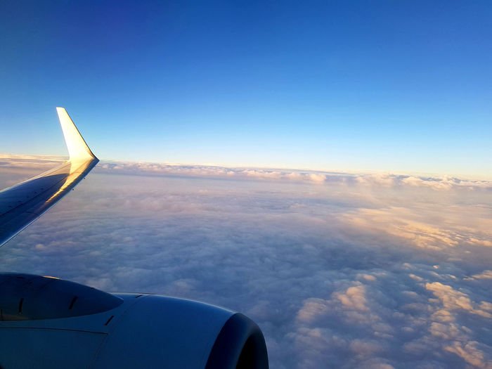 On route to Belguim, August 2017, the start of a journey through languages. Aerial View Airplane Airplane Wing Flying Journey Sky Transportation Travel First Eyeem Photo