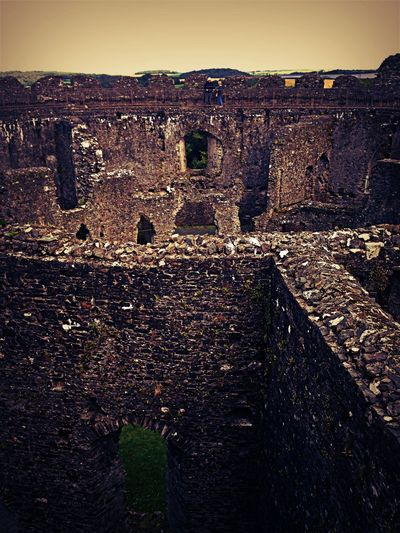 Castle Ruins Wandering Taking Photos IPhoneography Architecture Enjoying The Sights Old Castle Lostwithiel Walking