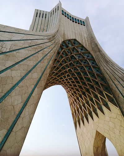 Azadi Tower in Tehran, Iran Architecture Sky City Travel Destinations Built Structure Outdoors Day No People Solotravel Travel Iran Middleeast Irantravel Architecture_collection Architecturelovers Architecturephotography Architectural Photography Architectureporn Buliding Design Azadi Tower Azadi Tower In Tehran Azaditower