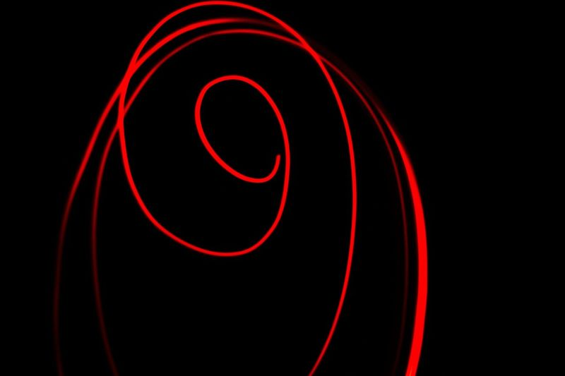 Abstractart Red Night Shot Night Photography Long Exposure Lignt Streak Glowing Red Light Spiralling Spiral Abstract Photography Abstractphotography Abstractlovers Abstract Minimalism  Neon Life