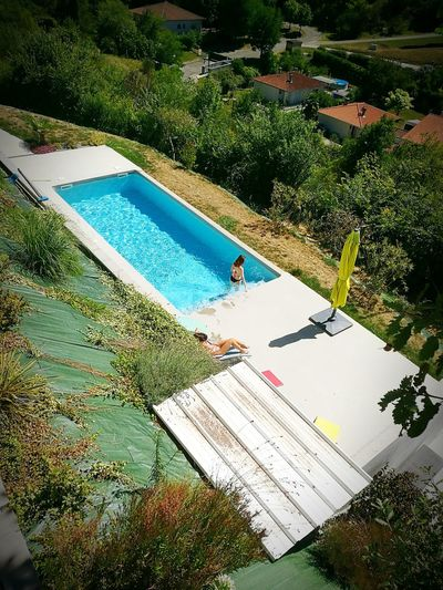 Swimming Pool Piscine Lacroix Falgarde Saturday Afternoon Detente ! Fs313 Dream House ALICIA MOD'L Design House Summertime Toulouse ...by fs313