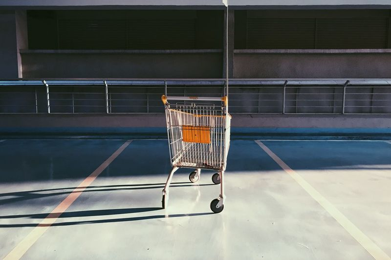Court Indoors  Day Boxing Ring Competition Shopping Cart