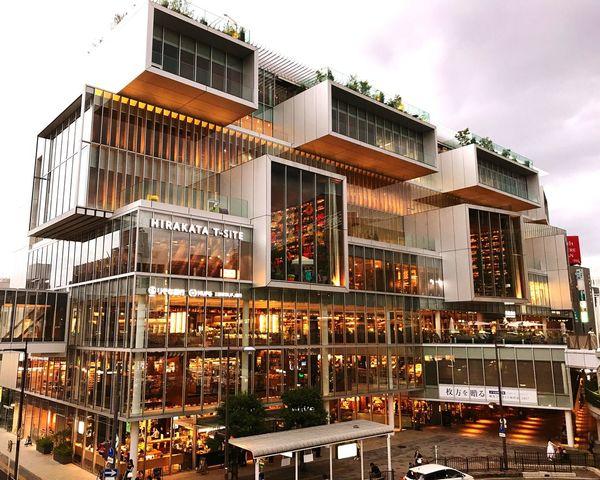 Hirakata T-site Osaka Japan Building Exterior ,iPhone7plus