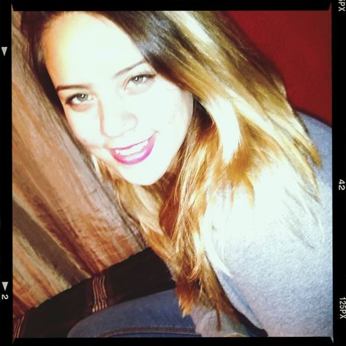 Model Sunshine ☀ Smile :) Self Portrait #flanblonde