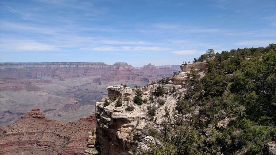 Scenic view of grand canyon nation park