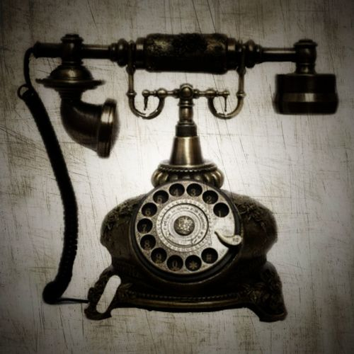 Old Telephone Creativity Old-fashioned Telephone Retro Styled Communication