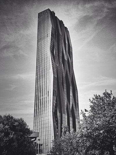 DC Tower 1 in Vienna. Love it! DC Tower Blackandwhite