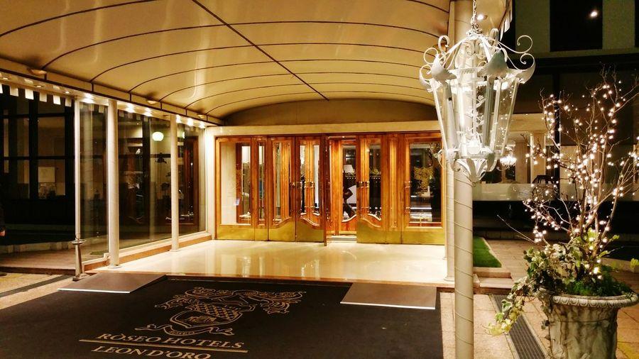 Hotel entry Italy
