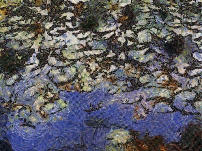 Impression,Japanese Pond
