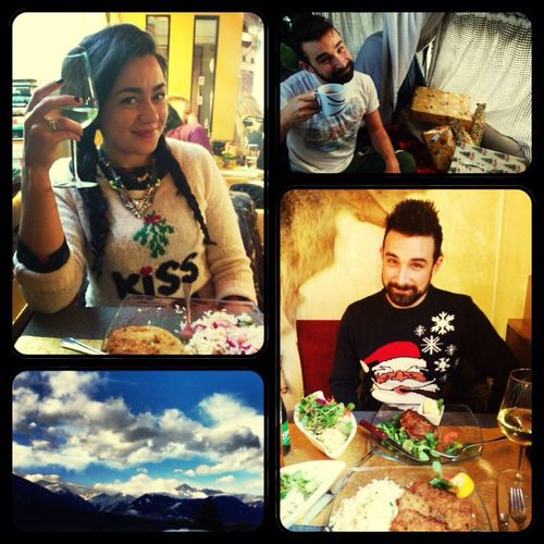 Xmas morning and afternoon in Innsbruck. Camping Being Adventurous Eurotrip