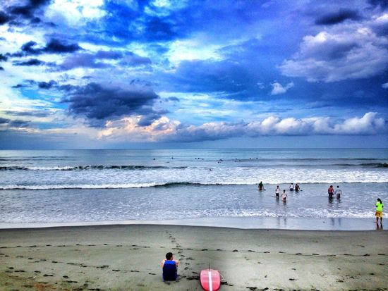 Baler, Aurora Philippines Cloud - Sky Water Real People Sand Men Nature Outdoors Large Group Of People Beauty In Nature Wave Lifestyles Day Be. Ready. EyeEmNewHere