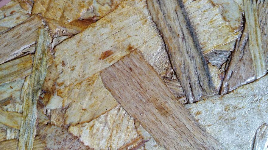 Wood scars...