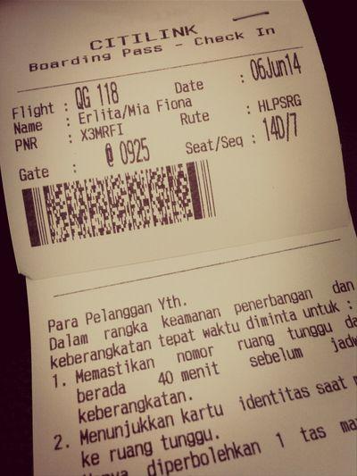 semarang here we come! @harunggu @citilink Trip INDONESIA