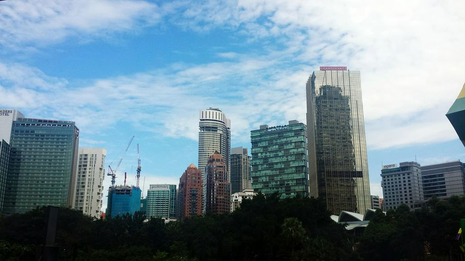 City blue, I'm gonna miss you Kuala Lumpur Concrete Jungle City Life Cityscapes Showcase July TakeoverContrast Welcome To Black
