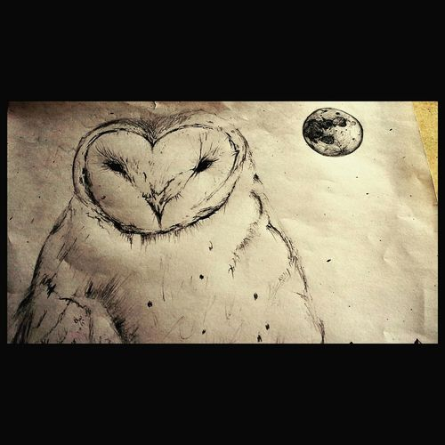 ArtWork Art, Drawing, Creativity Benjiart Getting Creative Owl Art