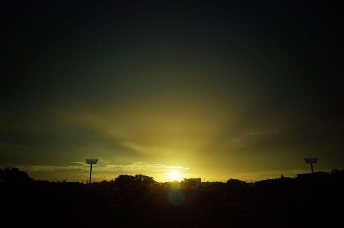 Football Soccer Jleague Yokohama FC Sunset EyeEm Weekend