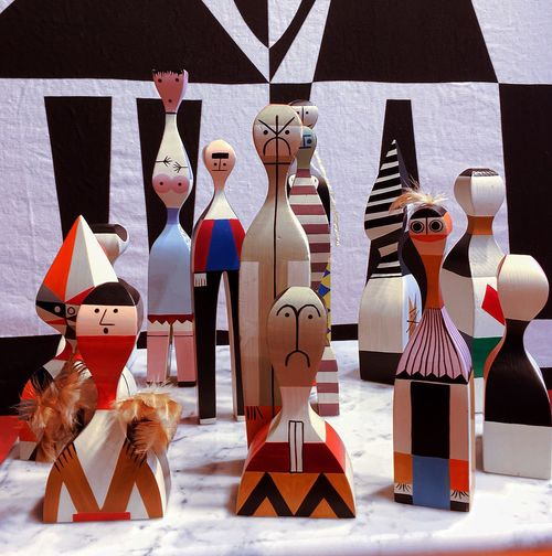 Wooden Dolls Vitra Design Museum Art And Craft Creativity No People