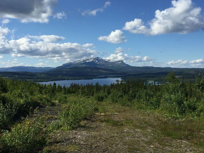 Åreskutan, Åre, Sweden Mountain Sky Wilderness Beauty In Nature Scenics - Nature Mountain Peak Outdoors Day Landscape Scenery Mountain Range Nature