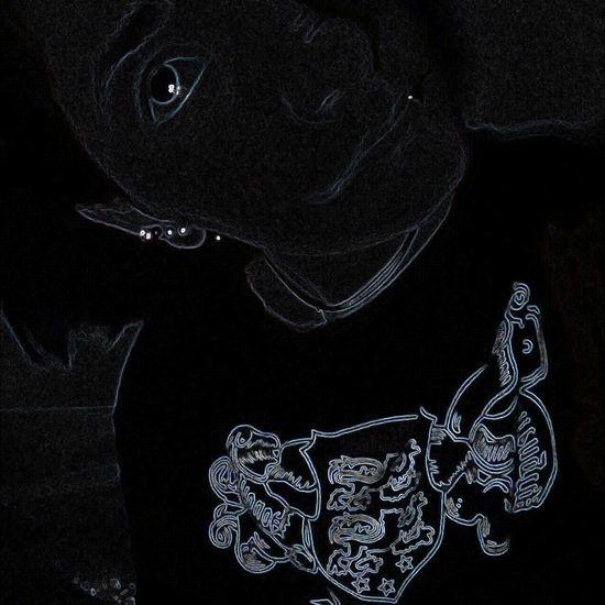 Black Color Sketch Textile Studio Shot No People Indoors  Close-up
