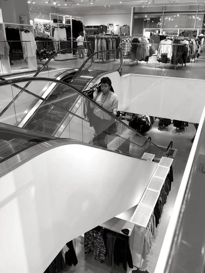 Shopping EyeEmNewHere EyeEm Best Shots Group Of People High Angle View Large Group Of People Real People Architecture Crowd Built Structure City Incidental People Shopping Mall Indoors  Mode Of Transportation