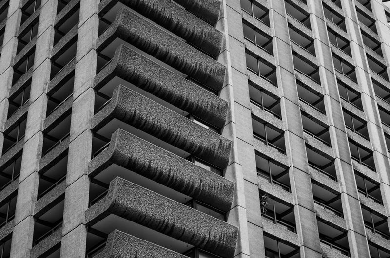 brutal beauty London Architecture Backgrounds Barbican Brutalism Building Exterior Built Structure Close-up Day Full Frame Indoors  Industry No People Pattern