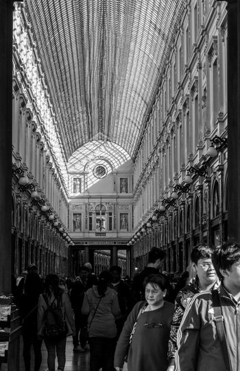 The streets of Brussels EyeEm Best Shots EyeEmNewHere Day EyeEm Gallery Eye4photography  First Eyeem Photo Blackandwhite Black And White Streetphotography City Crowd Men Women Student Architecture Travel Historic Passageway History Civilization Colonnade Historic Building Architectural Column Visiting Building Street Scene The Street Photographer - 2019 EyeEm Awards The Architect - 2019 EyeEm Awards The Mobile Photographer - 2019 EyeEm Awards