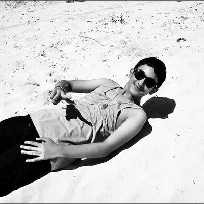 His summer has just began. :) Litratongbata Litratistadavao 9pmhabit Dailylitrato igersmanila igersphilippines phoneography happiness ktgvr goodvibes phoneography love instagood igerszurich igerssuisse philippines switzerland itsmorefuninthephilippines camiguinisland life_portraits self_exposure summer2014 worldunion bnw_captures bnw family brother beach whitesand sunbathing