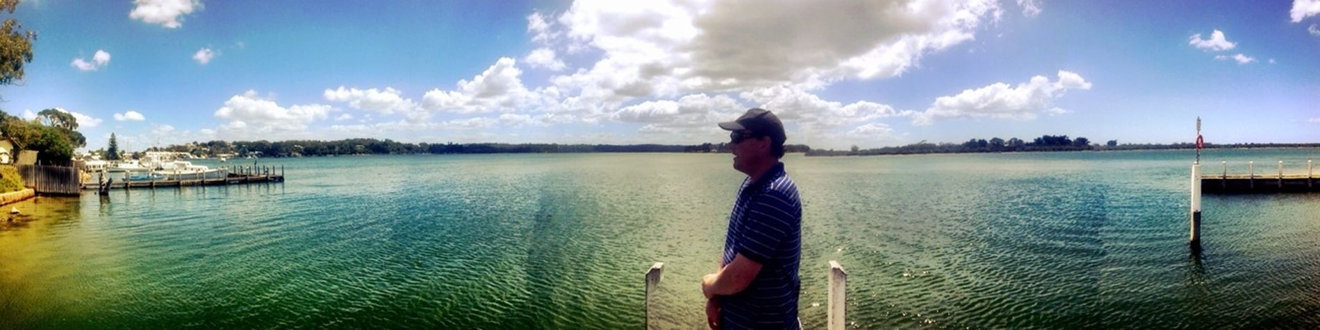 Ridiculously perfect weather to complement the ridiculously perfect panorama at Shaving Point.
