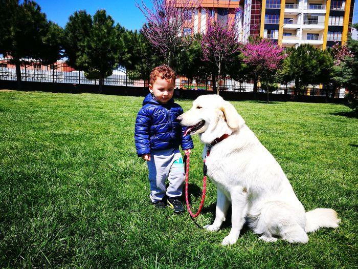 Dog Children Only Child Nature Animal Themes Yeğen 😘 Yegencandır😊☺️💕