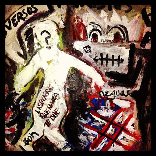 Los Versos más Tristes Art Arte abstract pintura poeta