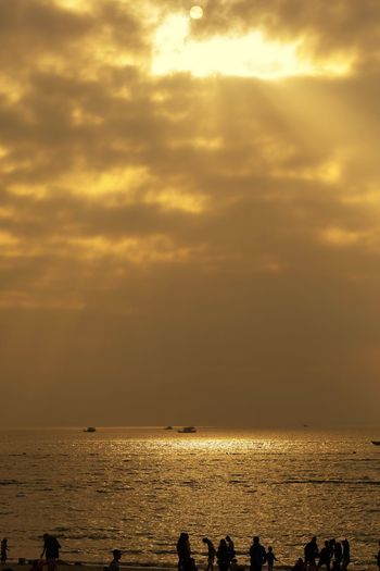 Xun liao wan Sky Water Sea Cloud - Sky Beauty In Nature Scenics - Nature Sunset Sunlight