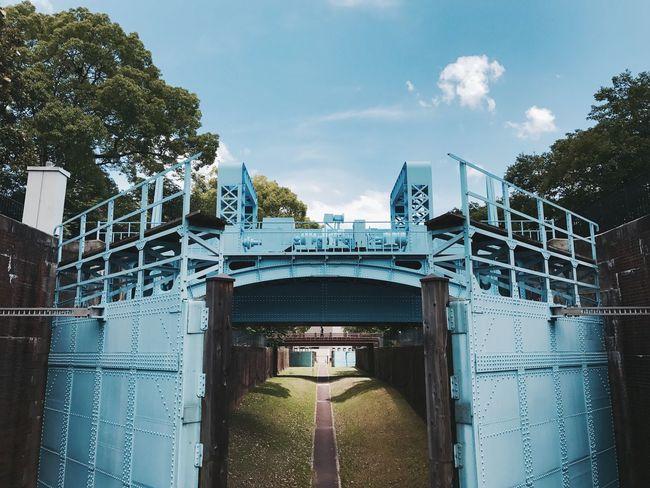 毛馬閘門 🚴♀️🚴 淀川 Yodogawa