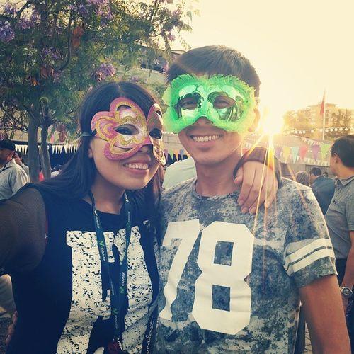 Carnaval con mi amiga preciosa!