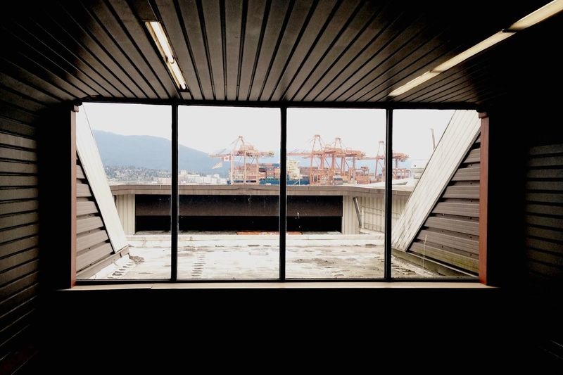 Looking out 👀 Pier View Looking Into The Future Terminal Urban Urban Geometry Urban Landscape Architecture Nature OpenEdit
